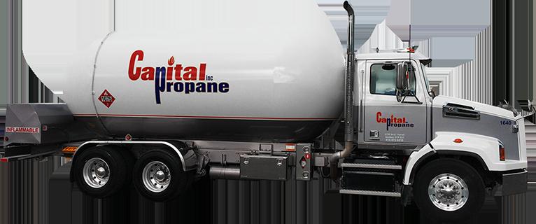 Camion livraison Capital Propane